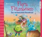 Das verwunschene Hexenkraut / Flora Flitzebesen Bd.3 (2 Audio-CDs)
