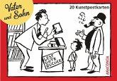 Postkartenbuch Vater und Sohn