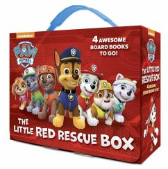 The Little Red Rescue Box (Paw Patrol): 4 Board Books - Random House