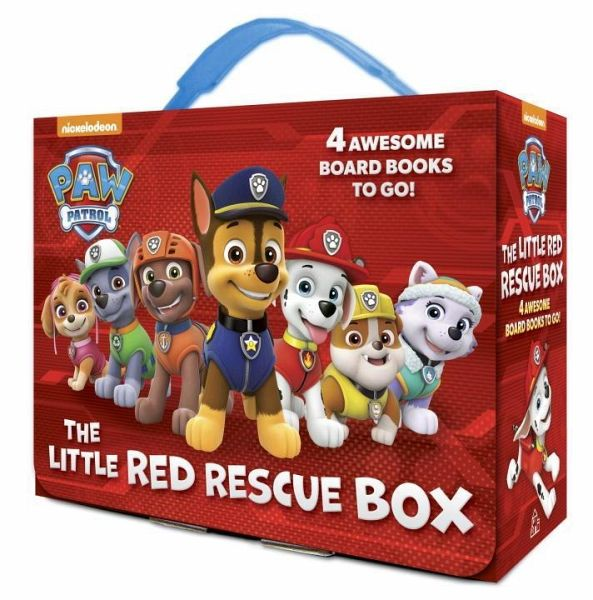 the little red rescue box paw patrol von random house englisches buch b. Black Bedroom Furniture Sets. Home Design Ideas