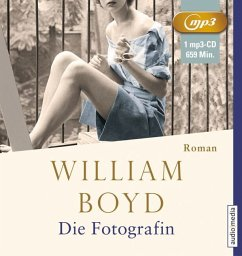 Die Fotografin, 2 MP3-CDs - Boyd, William