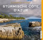 Stürmische Côte d'Azur / Kommissar Duval Bd.3 (4 Audio-CDs)