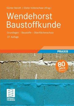 Wendehorst Baustoffkunde (eBook, PDF)