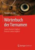 Wörterbuch der Tiernamen (eBook, PDF)