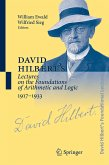David Hilbert's Lectures on the Foundations of Arithmetic and Logic 1917-1933 (eBook, PDF)