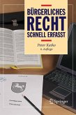 Bürgerliches Recht - Schnell erfasst (eBook, PDF)