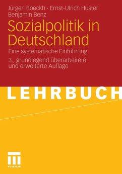 Sozialpolitik in Deutschland (eBook, PDF) - Huster, Ernst-Ulrich; Benz, Benjamin; Boeckh, Jürgen