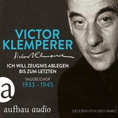 Ich will Zeugnis ablegen bis zum letzten (MP3-Download) - Klemperer, Victor