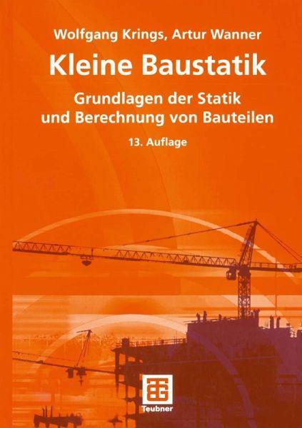 Kleine baustatik ebook pdf von wolfgang krings artur for Die kleine baustatik