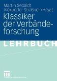 Klassiker der Verbändeforschung (eBook, PDF)