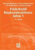 Frick/Knöll Baukonstruktionslehre 1 (eBook, PDF)