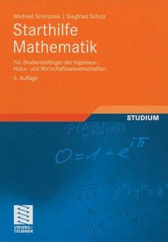 Starthilfe Mathematik (eBook, PDF) - Schirotzek, Winfried; Scholz, Siegfried