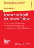 Routen zum Begriff der linearen Funktion (eBook, PDF)