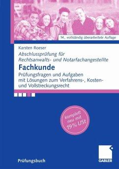 Fachkunde (eBook, PDF) - Roeser, Karsten