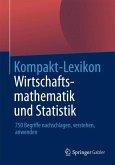 Kompakt-Lexikon Wirtschaftsmathematik und Statistik (eBook, PDF)