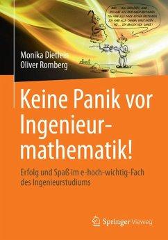 Keine Panik vor Ingenieurmathematik! (eBook, PDF) - Dietlein, Monika; Romberg, Oliver