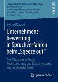 """Unternehmensbewertung in Spruchverfahren beim """"Squeeze out"""" (eBook, PDF)"""