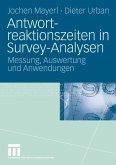 Antwortreaktionszeiten in Survey-Analysen (eBook, PDF)