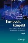 Eventrecht kompakt (eBook, PDF)