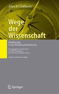 Wege der Wissenschaft (eBook, PDF) - Chalmers, Alan F.