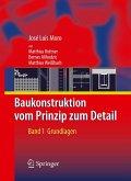 Baukonstruktion - vom Prinzip zum Detail (eBook, PDF)