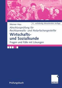Wirtschafts- und Sozialkunde (eBook, PDF) - Hau, Werner