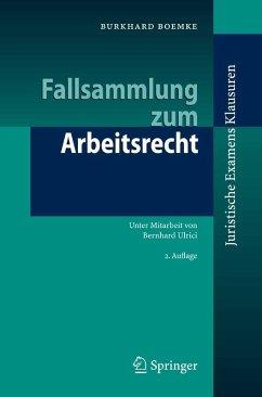 Fallsammlung zum Arbeitsrecht (eBook, PDF) - Boemke, Burkhard