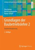 Grundlagen der Baubetriebslehre 2 (eBook, PDF)