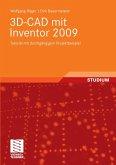 3D-CAD mit Inventor 2009 (eBook, PDF)