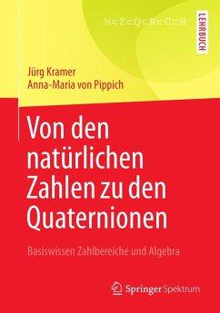 Von den natürlichen Zahlen zu den Quaternionen (eBook, PDF) - Kramer, Jürg; Pippich, Anna-Maria von