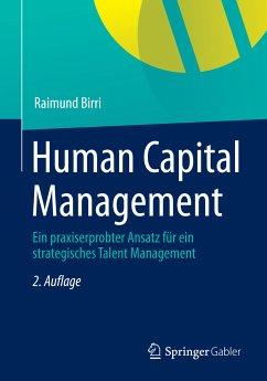 Human Capital Management (eBook, PDF) - Birri, Raimund