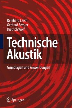 Technische Akustik (eBook, PDF) - Lerch, Reinhard; Sessler, Gerhard; Wolf, Dietrich