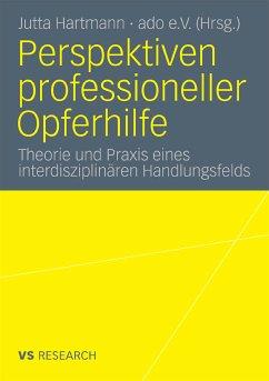 Perspektiven professioneller Opferhilfe (eBook, PDF)