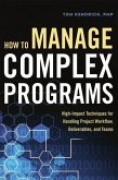 How to Manage Complex Programs: