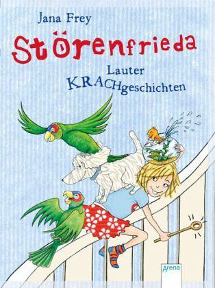 Buch-Reihe Störenfrieda von Jana Frey