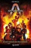 Die erste Mission der Space Warriors / Armouron Bd.1 (Mängelexemplar)