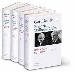 Gottfried Benn - Friedrich Wilhelm Oelze - Benn, Gottfried; Oelze, Friedrich Wilhelm