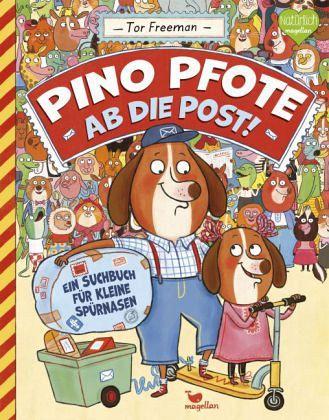 Buch-Reihe Pino Pfote
