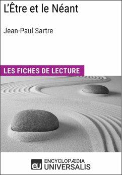 L´Être et le Néant de Jean-Paul Sartre (eBook, ePUB)