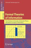 Formal Theories of Information (eBook, PDF)