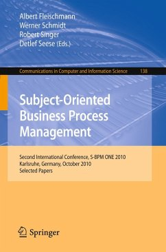 Subject-Oriented Business Process Management (eBook, PDF)