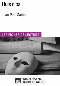 Huis clos de Jean-Paul Sartre (eBook, ePUB) - Universalis, Encyclopaedia