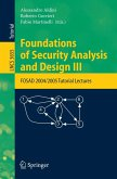 Foundations of Security Analysis and Design III (eBook, PDF)
