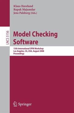 Model Checking Software (eBook, PDF)