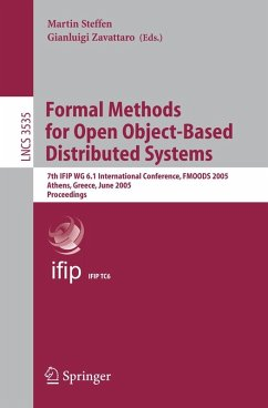 Formal Methods for Open Object-Based Distributed Systems (eBook, PDF)