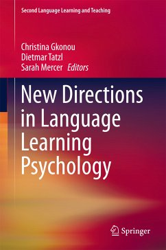 New Directions in Language Learning Psychology (eBook, PDF)