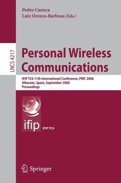 Personal Wireless Communications (eBook, PDF)