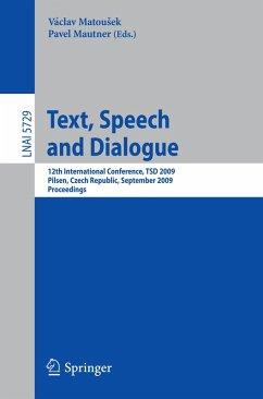 Text, Speech and Dialogue (eBook, PDF)
