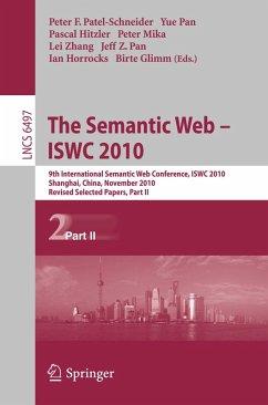 The Semantic Web - ISWC 2010 (eBook, PDF)
