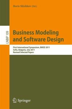 Business Modeling and Software Design (eBook, PDF)